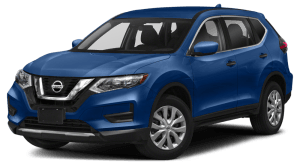 2020 Nissan Rogue S in blue
