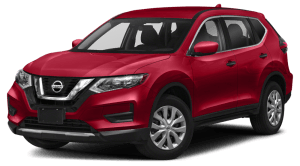 2020 Nissan Rogue SV in red